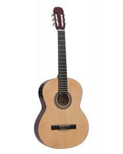 DIMAVERY AC-E300 Elektroakustinen kitara nature 4/4
