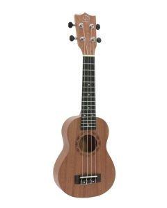 dimavery-ukulele-uk400 sopraano ruskea