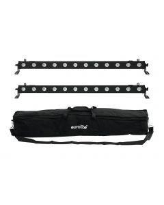 EUROLITE Set 2x LED BAR-12 QCL RGBW + Soft Bag bundle