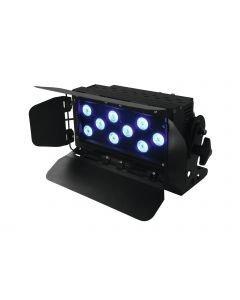 EUROLITE LED CLS-9 Valaisin 9x 8W QCL 4in1 LEDiä