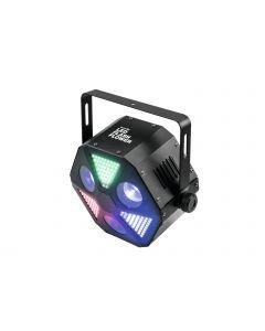 EUROLITE LED Flash Flower-efekti 3x 30W COB LED