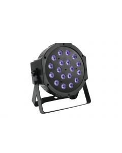 EUROLITE LED SLS-180 UV-valaisin 18x 1W