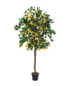 EUROPALMS 180cm Ihmeköynnös keltainen