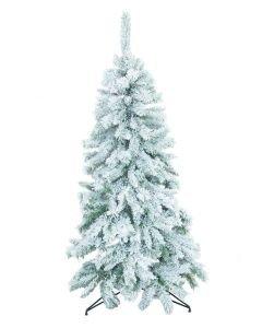 EUROPALMS 180cm Joulukuusi lumella kuorrutettu