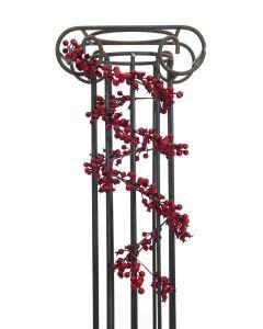 EUROPALMS 180cm Marjaköynnös punaisilla marjoilla