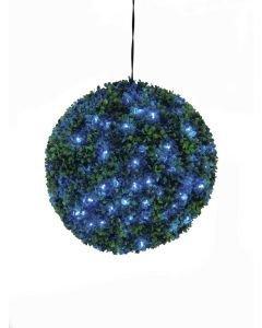 EUROPALMS 40cm Puksipuupallo LEDeillä sininen