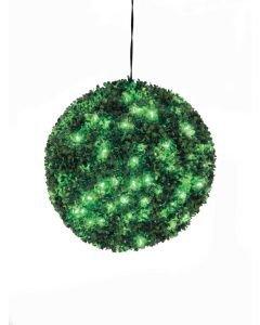 EUROPALMS 40cm Puksipuupallo LEDeillä vihreä