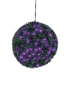 EUROPALMS 40cm Puksipuupallo LEDeillä violetti