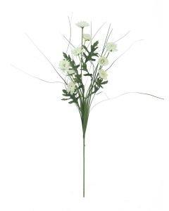 EUROPALMS 50cm Asteri koristeruoholla valkoinen
