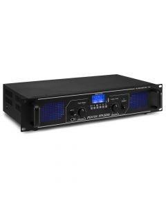 Fenton FPL500 2x 250W 4Ω Digitaalinen päätevahvistin mediasoittimella BT-tekniikalla