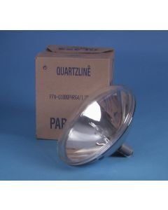 GE FFN PAR-64 1000W 120V Halogeenilamppu GX16d 3200K VNSP 800h himmennettävä