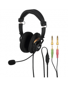 MONACOR BH-003 Kuulokemikrofoni pelikuuloke
