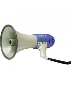 monacor-tm-25-megafoni-25w-115db-plugi-ulkoiselle-virralle