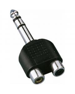 monacor nta-178 Plugi uros stereo -RCA stereo Y adapteri