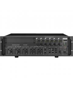 MONACOR PA-6240 PA-vahvistin 1x 240W 6-alueinen 5-kanavainen