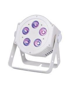 VUOKRAUS 5P HEX FLAT PAR Pearl 5x10W RGBWAUV 6in1 LED Spot