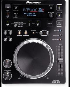 PIONEER CDJ-350 DJ CD-soitin USB tikku toistolla