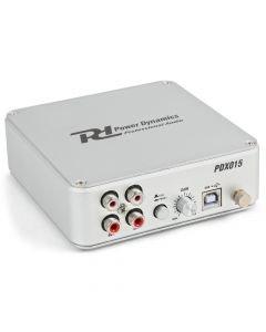 POWERDYNAMICS PDX015 USB RIAA-korjain