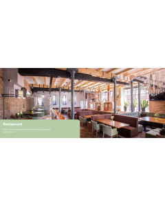 Ravintola ja kahvila äänentoisto