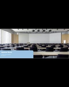 Seminaaritila, konferenssitila ja kokoustila pinta-asennus äänentoisto