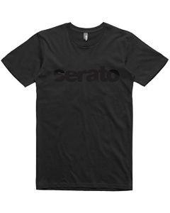 SERATO T-paita musta, koko L erittäin tyylikäs original serato paita mustalla logolla