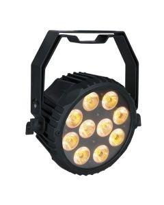 SHOWTEC Powerspot 10 SW - 2000K-6000K WW-CW-A - Kylmä ja lämmin valkoinen sekä amber sävy LED spotti