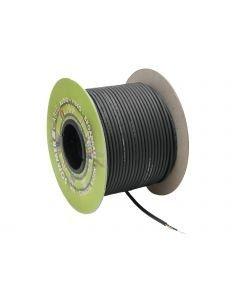 SOMMER CABLE Instrumenttikaapeli 100m musta Tricone MKII 1x 0.22 mm² PVC Ø 5.9 mm