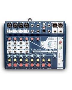 Soundcraft Notepad-12FX - pienikokoinen analogimikseri USB-audioväylällä ja aidoilla Lexicon-efekteillä