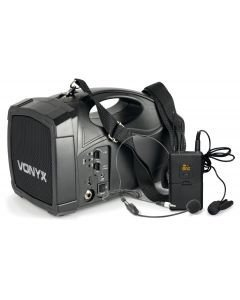 VONYX ST-012 Langaton headset akku kaiutin pikku jumppaan tai puhujalle
