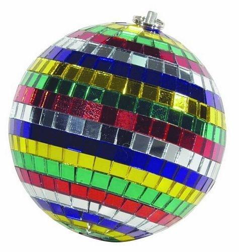 EUROLITE Peilipallo 10cm monivärinen, sisältää