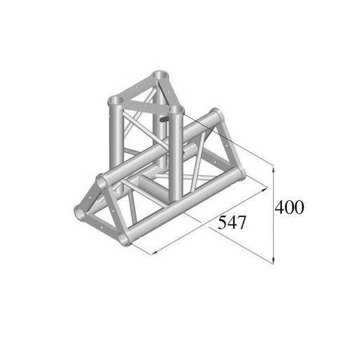 ALUTRUSS TRISYSTEM 3-tie T-pala PAT-35 vertical