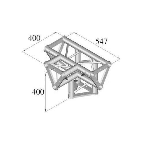 ALUTRUSS TRISYSTEM 4-tie risteyspala / PAT-42