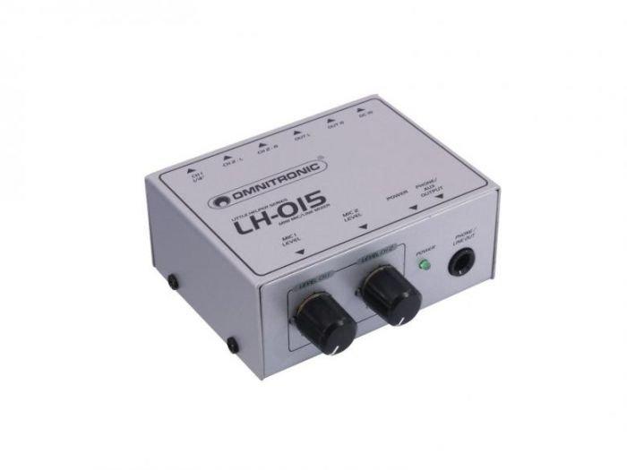 OMNITRONIC LH-015 Minikokoinen Linja Mikseri
