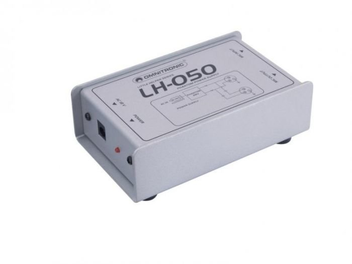 OMNITRONIC LH-050 phantom power adaptor Tällä