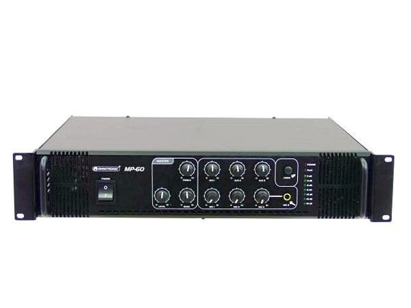 OMNITRONIC MP-60 100V PA Mikserivahvistin