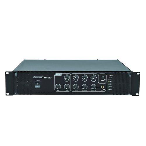 OMNITRONIC MP-120 120W 100 PA mikserivahvistin 3x