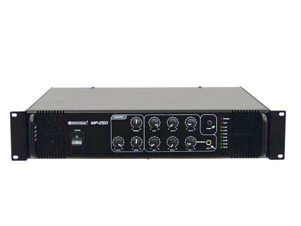 OMNITRONIC MP-250 100V Mikserivahvistin 250W RMS