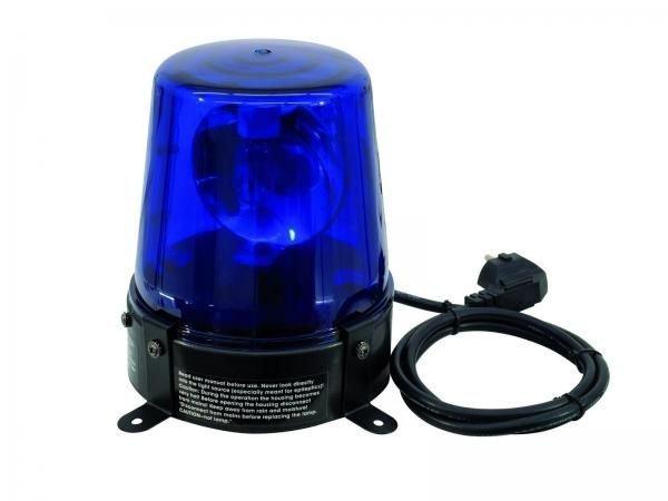 EUROLITE Poliisivalo Sininen DE-1 blue 230V/15W