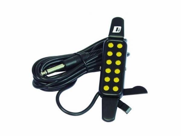 DIMAVERY APU-10/KQ-3 Akustisen kitaran mikrofoni