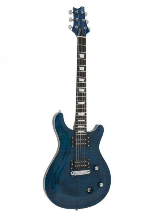 DIMAVERY DP-600 metallin sininen sähkökitara