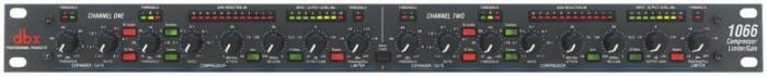 DBX 1066 Dual compressor limiter gate, selectable