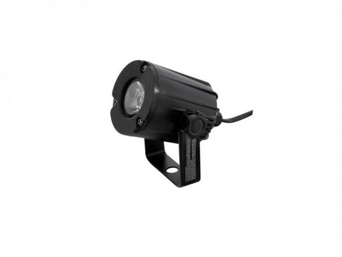 EUROLITE PST-3W LED-valaisin 3200K 6 on pieni pinspot