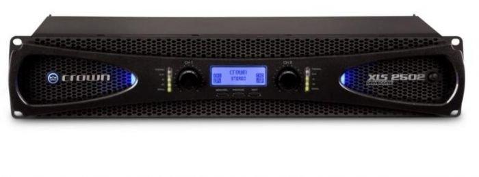 CROWN XLS-2502 päätevahvistin 2x 775W 4ohms, 2x