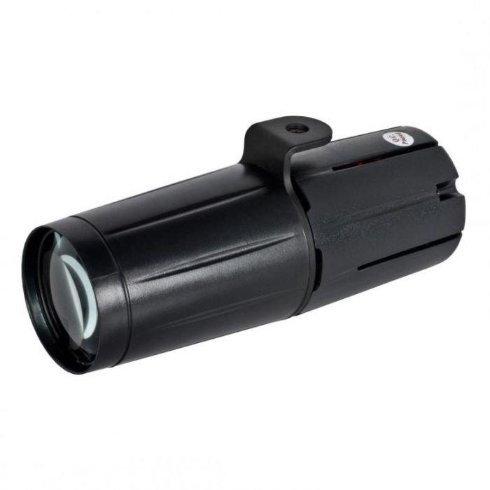 ADJ Pinspot LED II on pieni kapeakeilainen spotti