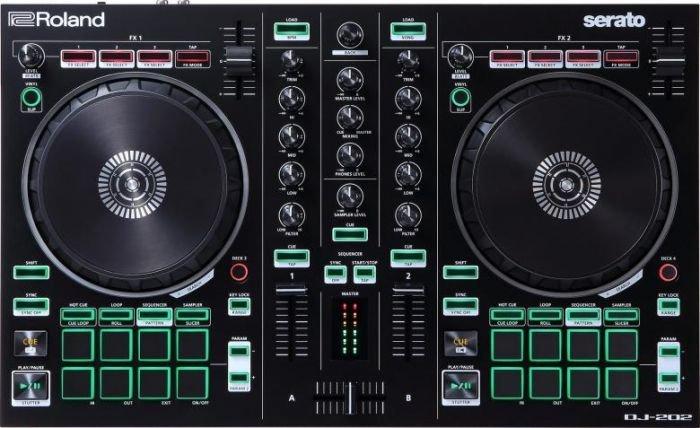 ROLAND DJ-202 Kontrolleri DJ-ohjain on