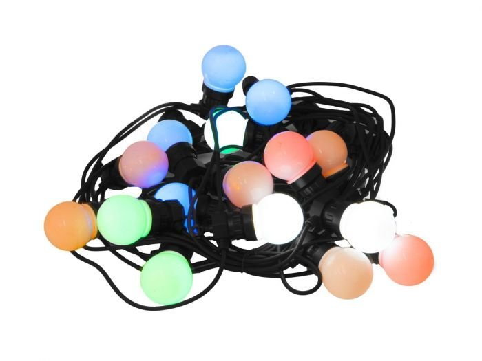 EUROLITE LED BL-20 IP44 tivolivalo värillisillä lampuilla