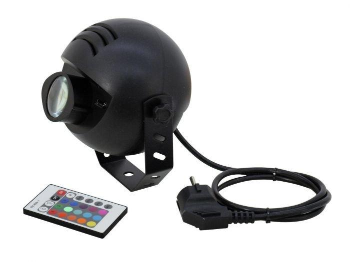 EUROLITE LED-valaisin PST-9W TCL IR Spot rgb kaukosäädin