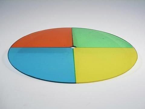 EUROLITE Värinvaihtajan vara-värikiekko Par-36