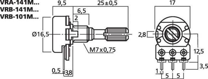 MONACOR VRA-141M10
