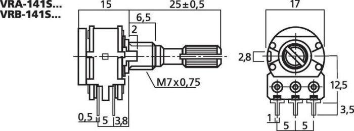 MONACOR VRA-141S10